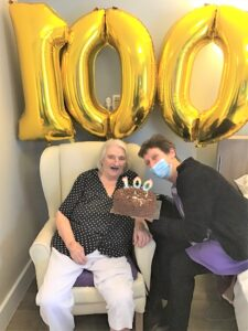 Jaqueline's 100th Birthday