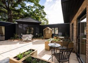 Riverdale Care Home Garden