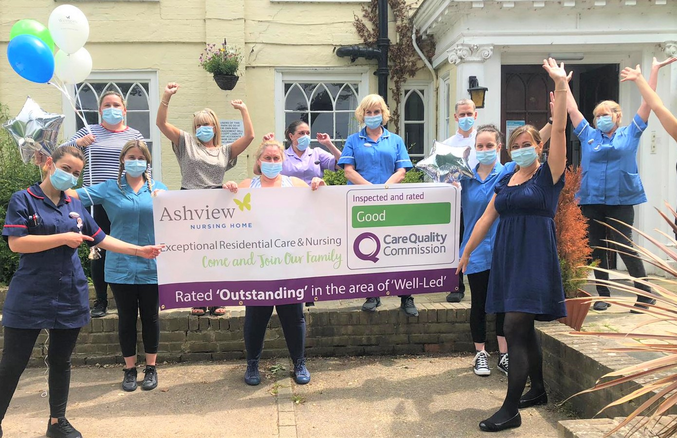 Ashview Nursing Home Receives CQC 'Outstanding' Category Rating